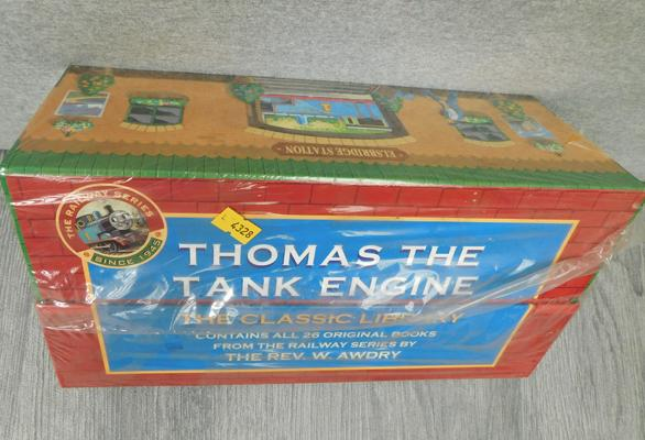Thomas the Tank Engine - The Classic Library, all 26 original books, sealed