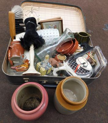 Suitcase of mixed collectables
