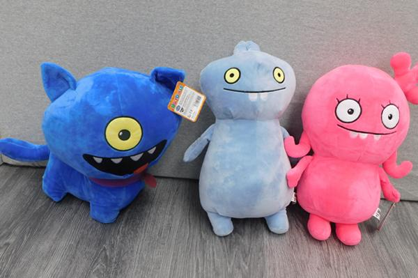 3 x new Ugly Dolls soft toys