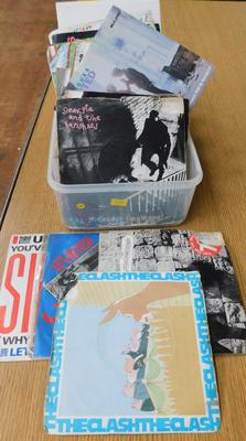Box of Punk records