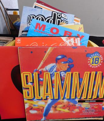 Box of mixed 12 inch singles Approx 57