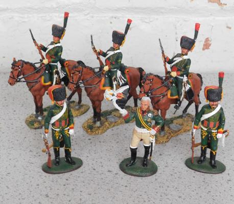 Del Prado Chasseurs of the Guard & Field Marshall
