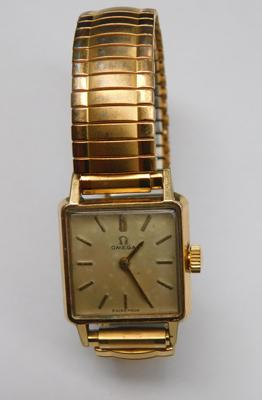 Genuine womens hand wound Omega watch