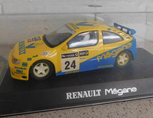 Scalextric Team Renault Rally car in box - never used