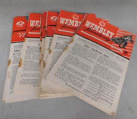 Quantity of Speedway programmes