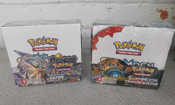 2x Boxes of Pokemon cards