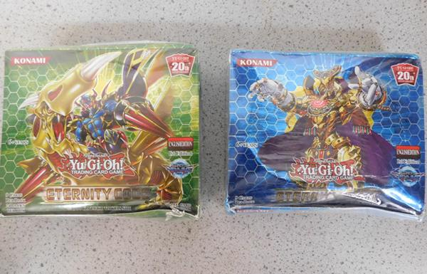 2x Boxes of YU-Gi-Oh cards