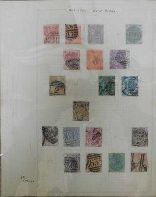 Valuable CAB Queen Victoria stamp collection, 8d orange, 2 shilling blue etc