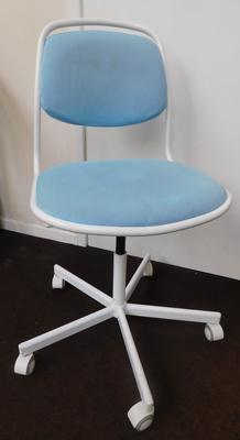 Ikea office swivel chair - height adjustable - all proceeds to Bradford hospitals Charity - Childrens Diabetes Ward