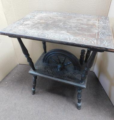 Ornate sewing table/steam punk