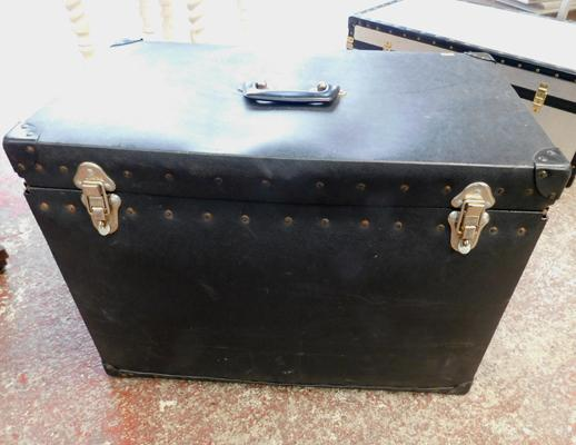 Large black trunk approx 26x15x18""