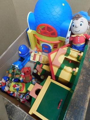 Collection of Noddy toys