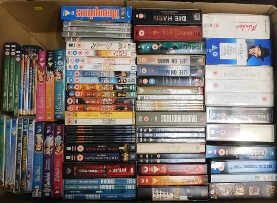 Large collection of box sets DVDs