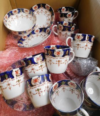 Part City Stanley china set inc large plates, small plates, sugar bowl, cups, saucers etc