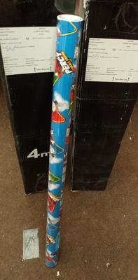 24x Thomas & Friends wrapping paper