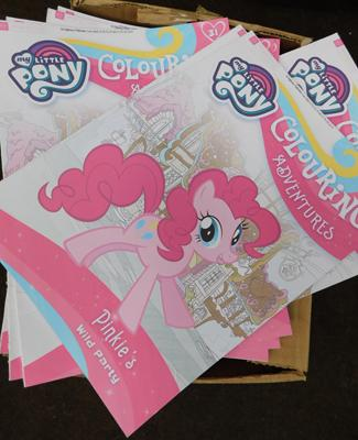 100 My Little Pony colouring activity books